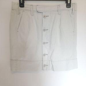 Anthropologie Paper Boy 4 Linen Skirt